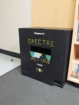 They finally did get a nice book-return box.