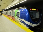 A last view of a Canada Line train.